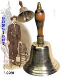 Click here to enlarge image and see more about item 3768: Civil War era nickel-silver BELL