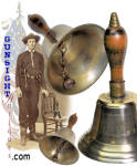 Click to view larger image of Civil War era nickel-silver BELL (Image2)