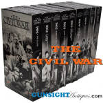 Click here to enlarge image and see more about item 3769: Ken Burns - THE CIVIL WAR -  5 volume VCR documentary set