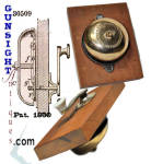 Civil War era Patent 1860 -  MECHANICAL DOOR BELL
