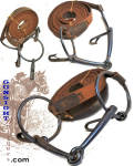Click to view larger image of U.S. Cavalry - Indian Wars era Watering Bit & Reins  (Image1)