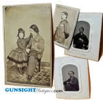 Newspaper Man & Author- William Wirt Sikes / Civil War era Photographs