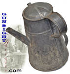 Click to view larger image of Civil War era SIDE SPOUT COFFEE POT (Image2)