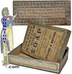 Click to view larger image of Civil War era  YANKEE SHAVING SOAP BOX (Image2)
