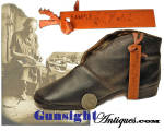 Civil War vintage contractor sample MILITARY BROGAN