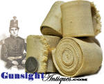 original earlier 1800s to Civil War vintage MILITARY WEB BELT