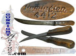 Click here to enlarge image and see more about item 4215: vintage Remington Butcher Knife #4412