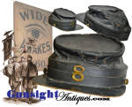 Click here to enlarge image and see more about item 4221: Original ! Civil War era  WIDE AWAKE style Kepi