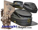 Click to view larger image of Original ! Civil War era  WIDE AWAKE style Kepi (Image2)