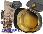 Click to view larger image of Original ! Civil War era  WIDE AWAKE style Kepi (Image3)