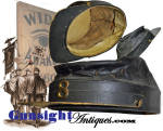 Click to view larger image of Original ! Civil War era  WIDE AWAKE style Kepi (Image4)