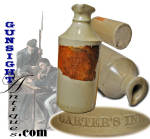Click here to enlarge image and see more about item 4259: Carter's Writing Fluid -  STONEWARE MASTER INK