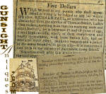 Click to view larger image of c. 1798  New York NEWSPAPER  (Image5)