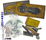 Click here to enlarge image and see more about item 4285: Civil War MARKING STENCIL KIT  - L. R. Hill Drummer 100th Illinois