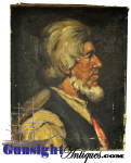 Click to view larger image of oil portrait - 19th Century Maine Ship Builder / Guy C. Goss) by Helen M. Hinds (Image2)