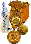 Click here to enlarge image and see more about item 4443: 1926 Des Moines G. A. R. National Encampment – REPRESENTATIVE  MEDAL