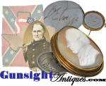 Click to view larger image of  important- U.S. Army then Confederate- Gen. David E. Twiggs - CAMEO (Image2)