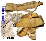 Civil War vintage chamois Money Belt