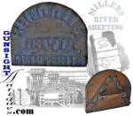 Click to view larger image of earlier to mid 1800s Millers River Cotton Mill - TEXTILE STAMP (Image2)