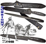 Click to view larger image of Revolutionary War / Frontiersman - Rifleman Knife (Image2)