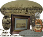 rare variant !! original Civil War photograph - 10th Veteran Reserve Corps
