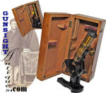 Click to view larger image of cased Victorian MICROSCOPE  (Image2)