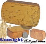 Click to view larger image of Victorian era - Birch Bark Snuff Box  (Image2)