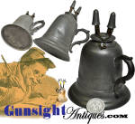 c. 1850 / 1860s pewter & tin camphene –LAMP