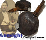 Click to view larger image of hand crafted Antique Shot Pouch (Image2)