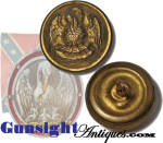 Click here to enlarge image and see more about item 5526: Nice! Louisiana Pelican – Confederate State Coat Button