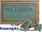 Click to view larger image of attic find Antique Wood Block PICTURE PUZZLE in CRANDALL'S Pat. 1867 box.  (Image3)