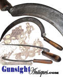 Click to view larger image of fine condition – America Revolutionary War era - SICKLE (Image1)