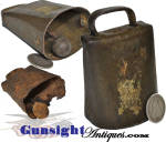 Civil War vintage SHEET IRON BELL