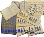 Rarely seen!   Horstman & Sons 1851 - U S Army UNIFORM BOOK