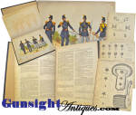 Click to view larger image of Rarely seen!   Horstman & Sons 1851 - U S Army UNIFORM BOOK (Image3)