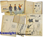 Click to view larger image of Rarely seen!   Horstman & Sons 1851 - U S Army UNIFORM BOOK (Image4)