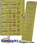 Click to view larger image of Antebellum SLAVE SERVANT'S - WILMINGTON & WELDON RAIL ROAD  TICKET (Image2)