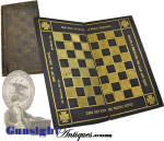 Click to view larger image of mid 1800s advertising checkerboard – SNOW & BROWN – MOBILE, ALABAMA  (Image3)