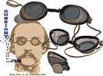 Civil War era PROTECTIVE GLASSES