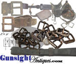 Click to view larger image of Original!  Antique!   ROLLER BUCKLES (Image2)