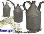 Click to view larger image of Civil War era LAMP OIL TIN (Image2)