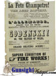 Click to view larger image of July 4th 1850 - BOSTON THEATER BROADSIDE - Ravel Family company of Gymnasts, Tight Rope & Dancers  (Image3)