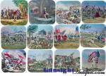 Click to view larger image of MAGIC LANTERN SLIDE  SHOW– Pilgrims – Rev. War – War of 1812 – Civil War & Spanish American War View (Image2)