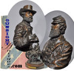 Click to view larger image of THE LAST MEETING of LEE & STONEWALL JACKSON - a bronze by Ron Tunison (Image3)