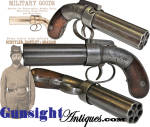 Click to view larger image of Allen & Thurber PEPPERBOX PERCUSSION PISTOL (Image2)