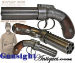 Click to view larger image of Allen & Thurber PEPPERBOX PERCUSSION PISTOL (Image3)
