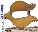 Click to view larger image of Civil War Mounted Artillery - Grimsley pattern - DRIVER'S SADDLE TREE* (Image4)