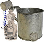 Civil War era personal TIN CUP