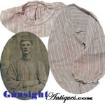 Click to view larger image of Original! Civil War era man's COTTON SHIRT (Image4)