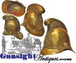 Click to view larger image of Antique LONDON FIRE BRIGADE HELMET (Image2)